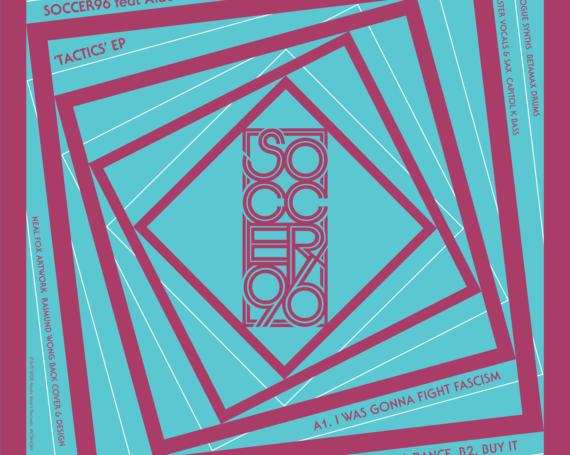 """Soccer96 & Alabaster DePlume """"Tactics"""" EP"""